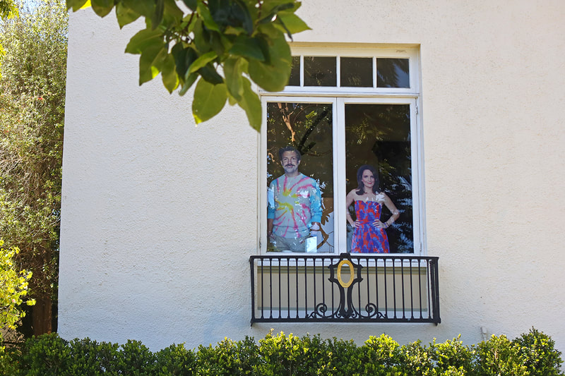 actor cut outs in windows