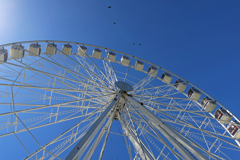 ferris wheel in golden gate park