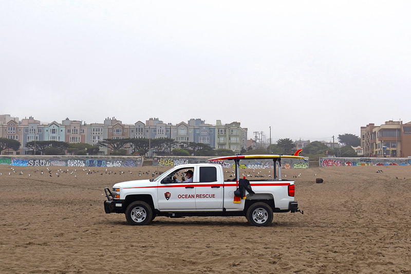 ocean rescue vehicle