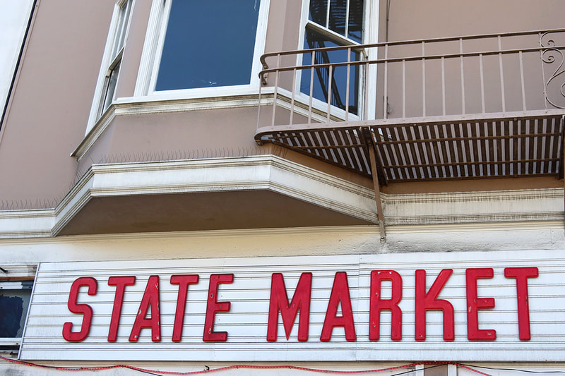 state market sign